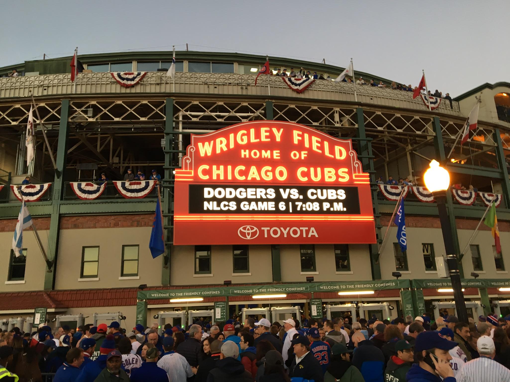 Bernies Tap  Grill Across From Wrigley Field - Chicago map showing wrigley field